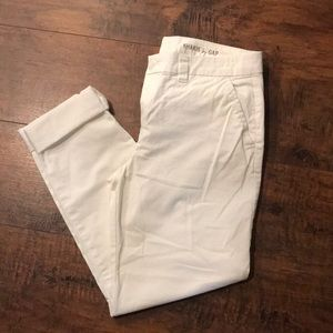GAP Khakis in White